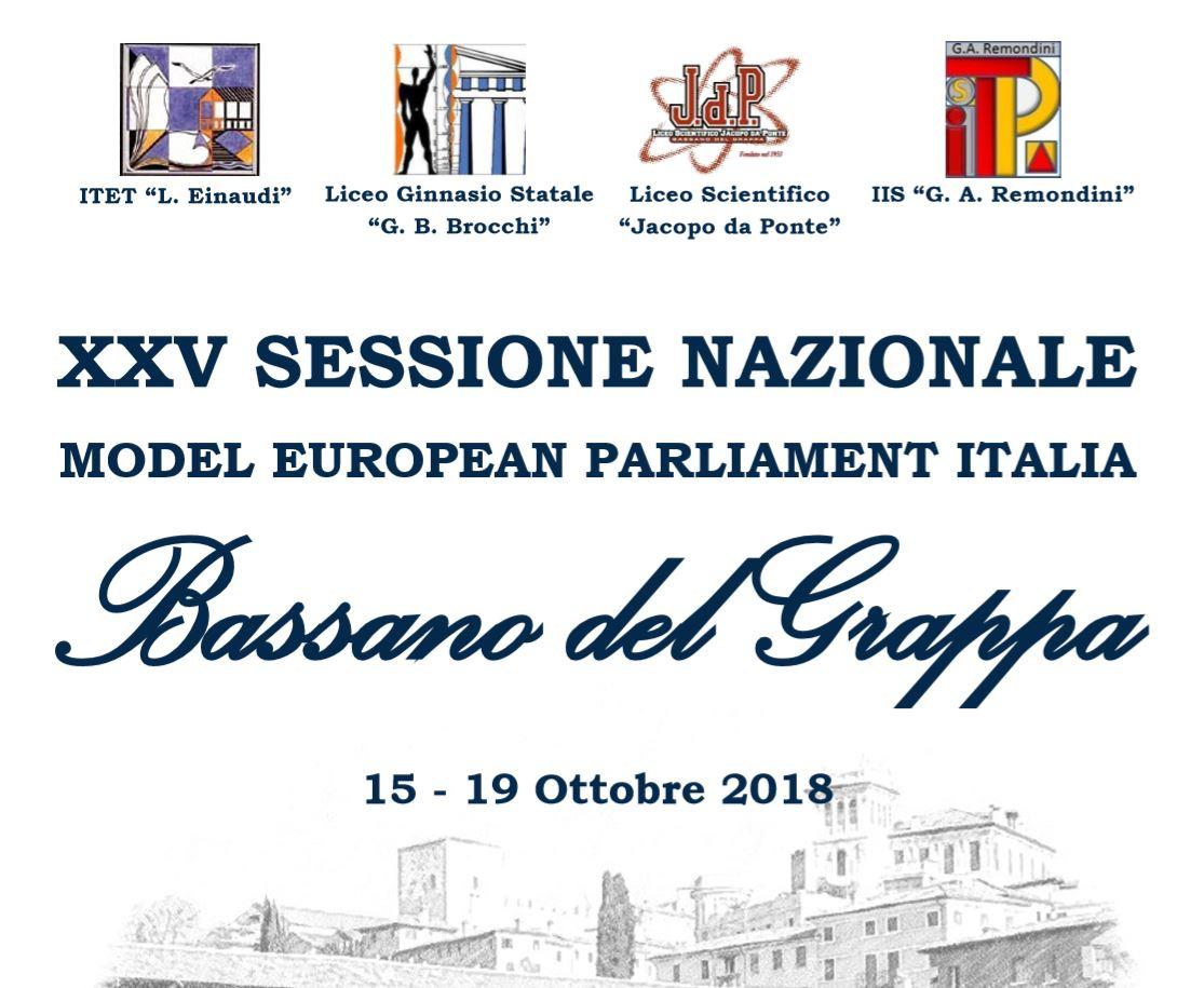 BASSANO DEL GRAPPA 15 -19 OTTOBRE 2018 XXV SESSIONE NAZIONALE MEP