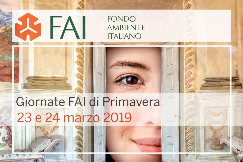 GIORNATE DI PRIMAVERA FAI 2019  - 23-24 MARZO